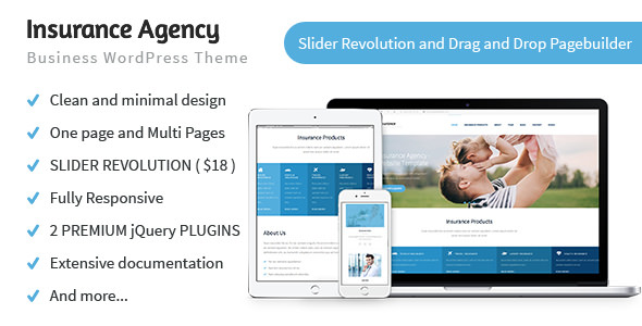 insurance wordpress theme nulled  Insurance Agency v1.0.5 – Business and Insurance WP Theme ...
