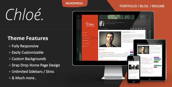 Chloe v1 2 1 – Personal Portfolio WordPress Theme - vestathemes