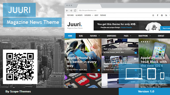 Juuri – Magazine and News WordPress Theme - vestathemes - Download ...