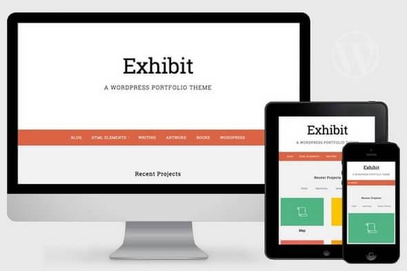 Exhibit v1.0.3 – WordPress Portfolio Theme - vestathemes - Download ...