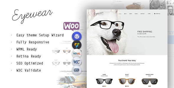 Eyewear v1.0 – Buy Sell Glasses Online WordPress Theme - vestathemes ...
