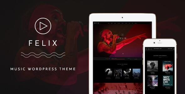 Felix v1.0 – Responsive Music, Event WordPress Theme - vestathemes ...