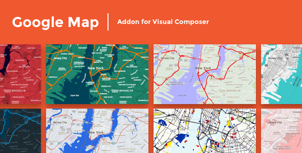 Google Map Addon For Visual Composer Vestathemes Download Free - Google maps themes