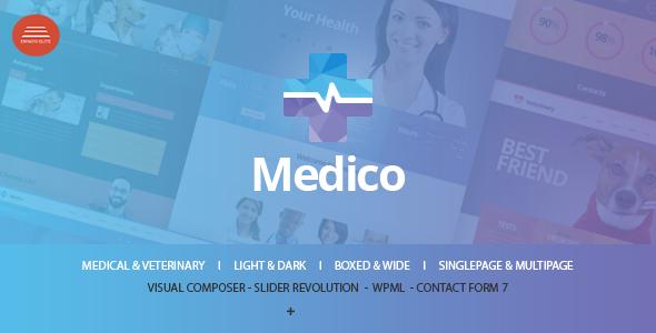 Medico v1.0.5 – Medical & Veterinary WP Theme - vestathemes ...
