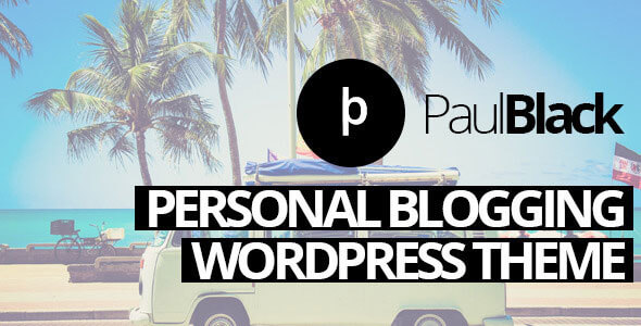 PaulBlack v1.7 Personal Blog WordPress Theme - vestathemes ...