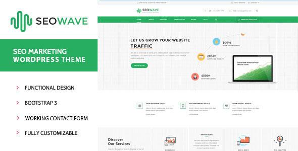 SEO Wave – WordPress Theme for Search Engine Optimization ...