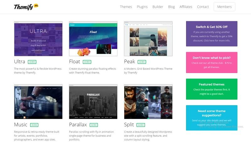 Themify All WordPress Themes Pack Updated On 2017 - vestathemes ...