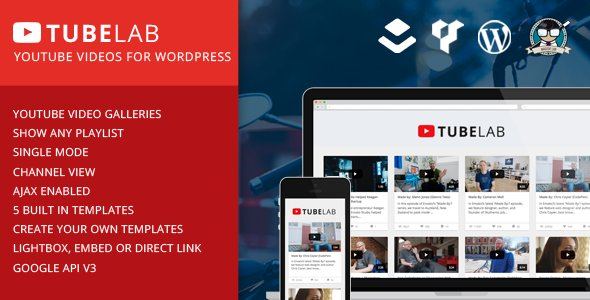 Tubelab v1.0 – YouTube plugin for WordPress - vestathemes - Download ...