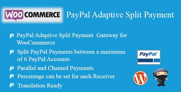 WooCommerce PayPal Adaptive Split Payment v2 4 - vestathemes