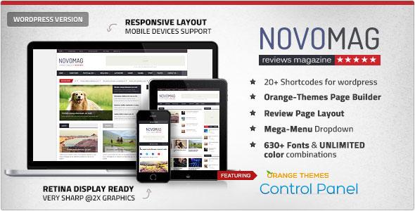 Novomag v1.1.0 – Themeforest Clean & Flat Magazine - vestathemes ...
