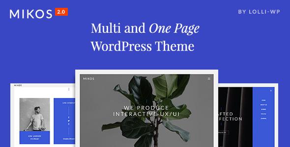Image result for mikos wordpress theme