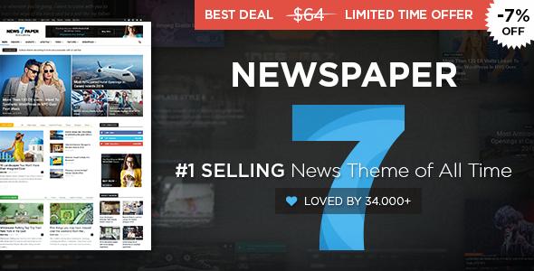 Newspaper v7.8 – WordPress News Theme - vestathemes - Download Free ...