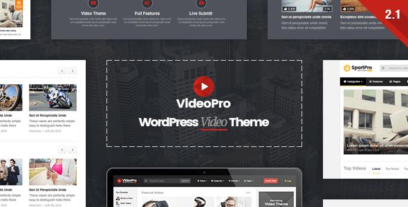 VideoPro v2.1.1 – Responsive WordPress Video Theme - vestathemes ...