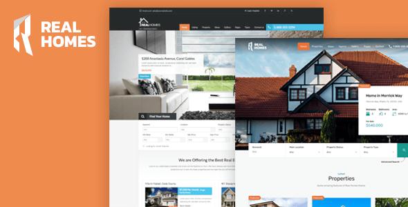 Real Homes v3.1.0 – Responsive Real Estate WordPress Theme ...