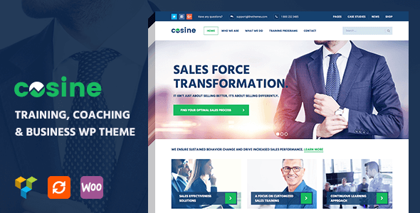Cosine v102 training coaching business wordpress theme download free cosine wordpress theme v102 friedricerecipe Gallery