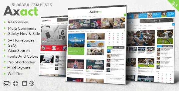 Axact v3.1 – Responsive Magazine Blogger Theme - vestathemes ...