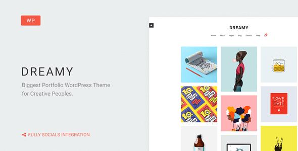Dreamy v13 responsive biggest portfolio wordpress theme download free dreamy wordpress theme v13 maxwellsz