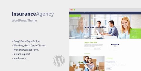 free insurance wordpress templates  Insurance v1.0 – WordPress Theme for Insurance Agency - vestathemes ...