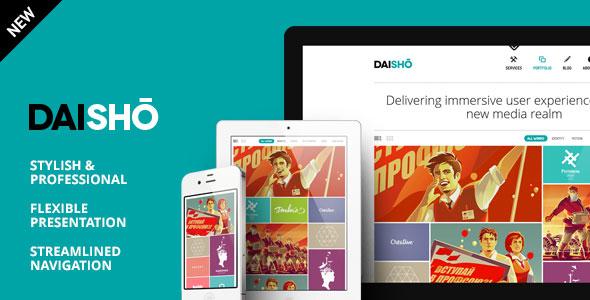 daisho wordpress theme free download