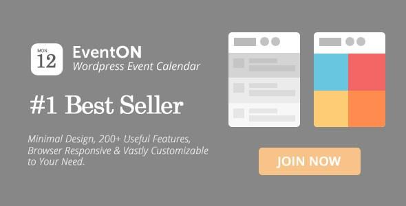 Eventon v2. 6. 5 – responsive wordpress event calendar plugin.
