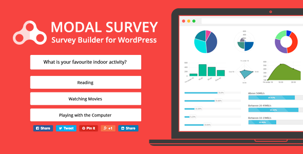 modal survey v1 9 8 8 wordpress poll survey quiz plugin