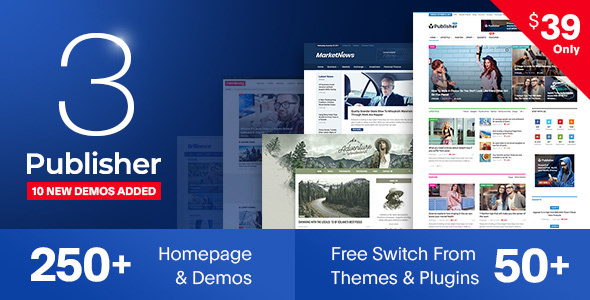 Publisher v3.1.0 – Newspaper Magazine AMP - vestathemes - Download ...