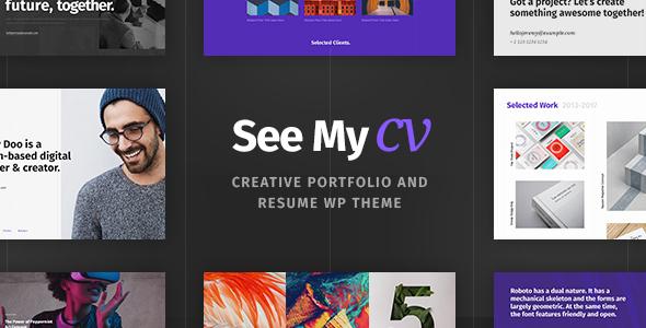 theme cv wordpress gratuit See My CV v1.0.6 – Resume & vCard WordPress Theme   vestathemes  theme cv wordpress gratuit