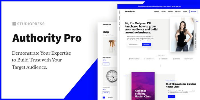 Authority Pro v1.0.2 – WordPress theme + Genesis Framework ...