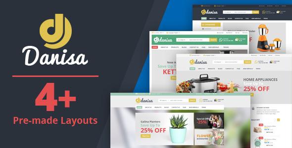 Danisa v1.0 – Appliances, Gifts, Flower, Kitchenware Magento Theme ...
