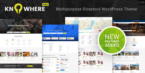 Knowhere Pro v1.3.5 – Multipurpose Classified Directory WordPress ...