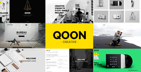 Qoon v108 creative portfolio agency wordpress theme download free qoon wordpress theme v108 maxwellsz
