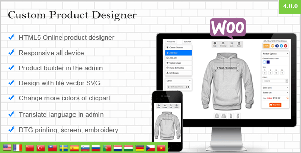 WooCommerce Custom Product Designer v4 3 1 - vestathemes - Download