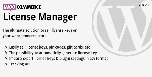 WooCommerce License Manager v2 4 - vestathemes - Download
