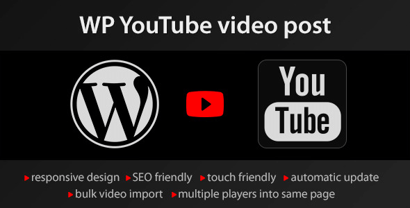 Youtube wordpress plugin v146 wordpress video import plugin download free youtube wordpress plugin wordpress plugin v146 ccuart Choice Image