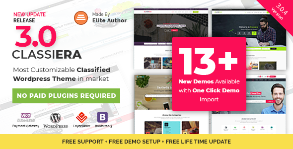 Classiera v3.0.4 – Classified Ads WordPress Theme - vestathemes ...