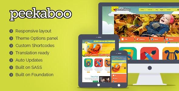 Peekaboo v2.13.0 – Responsive Children WordPress Theme - vestathemes ...
