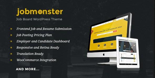 Jobmonster v4.4.4 – Responsive Job Board WordPress Theme ...