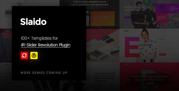 Slaido v2.0 – Template Pack for Slider Revolution - vestathemes ...