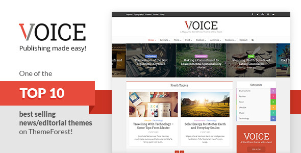 Voice v2.7 – Clean News/Magazine WordPress Theme - vestathemes ...