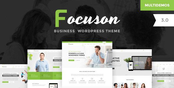 Focuson v3.0 – Responsive Business WordPress Theme - vestathemes ...