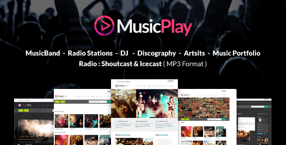 MusicPlay v9.2.0 – Music & DJ Responsive WordPress Theme ...