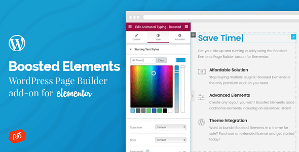 Boosted Elements v1.8 – WordPress Page Builder Add-on for Elementor ...