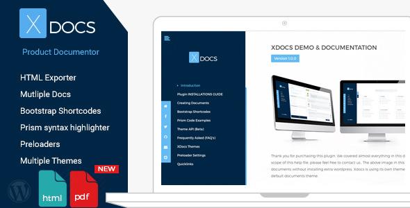 X Docs v1.0.4 – WordPress Product Documentation Creator ...