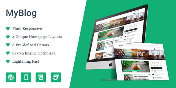MyBlog v1.1.3 - Premium Professional WordPress Theme - vestathemes ...