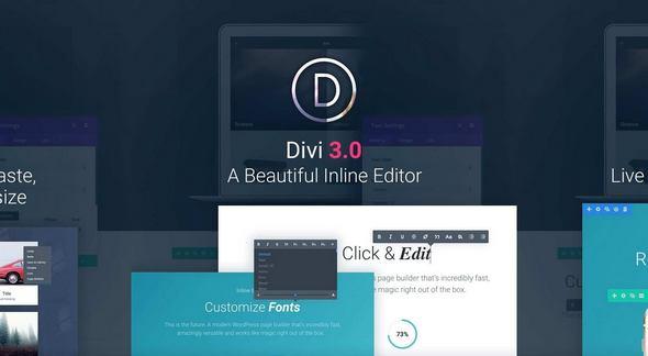 Divi v3.10.1 - The Ultimate WordPress Theme & Visual Page Builder ...