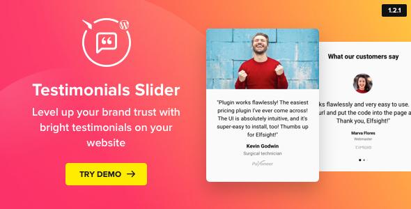 Testimonials Slider v1 2 1 - WordPress Testimonials Plugin