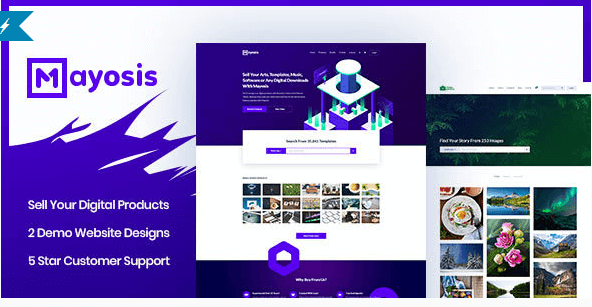 Mayosis v20 responsive digital marketplace wordpress theme download free mayosis wordpress theme v212 thecheapjerseys Images