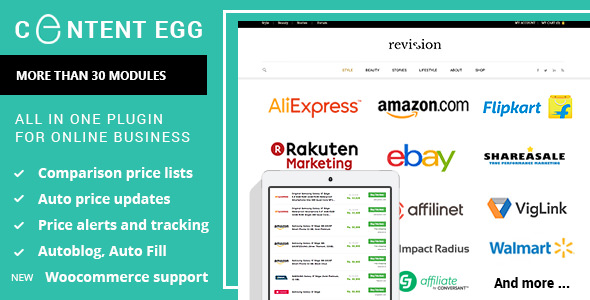 Content Egg v4 8 0 - all in one plugin for Affiliate, Price