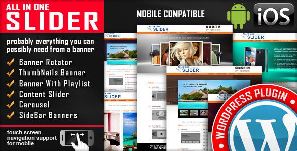 All In One Slider v3 7 1 2 0 - Responsive WordPress Slider