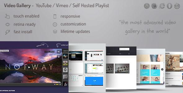 7+ video gallery wordpress plugins (free and paid) | formget.
